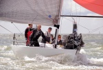 2014 Quarter Ton Cup Cowes Isle of WightPeter Morton's Bullet first overall